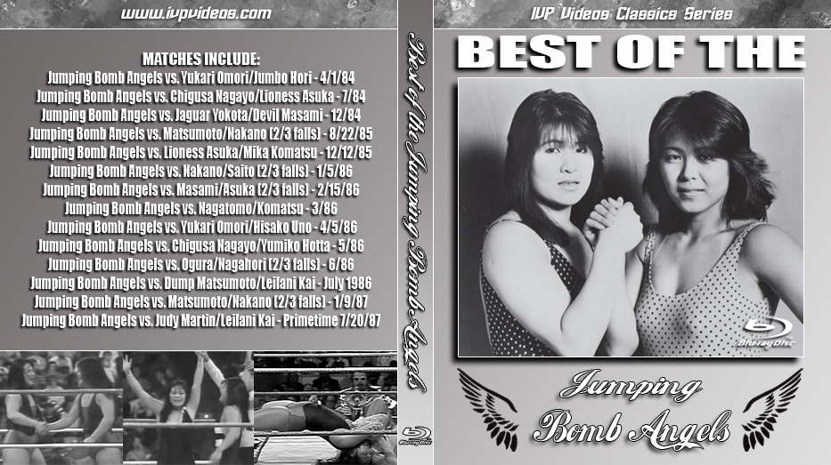 Best of Jumping Bomb Angels V.1 (Blu-Ray with Cover Art)